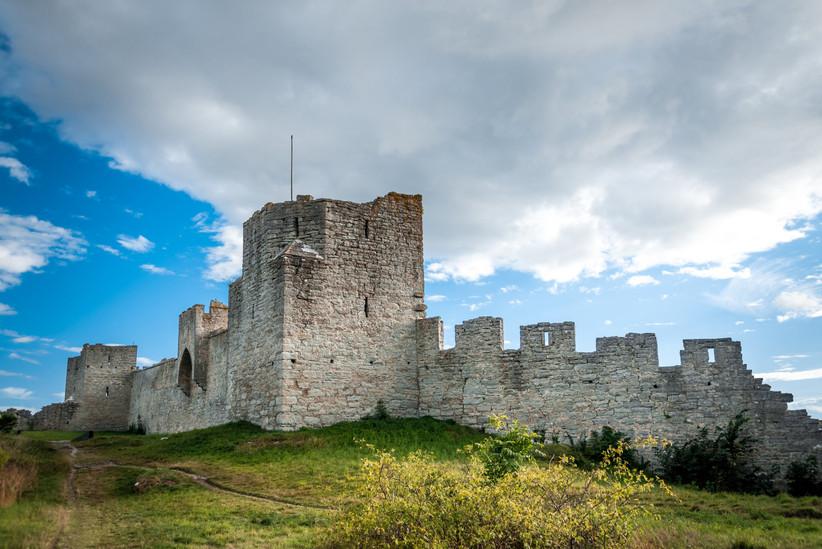 Isla de Gotland, muralla medieval de Visby