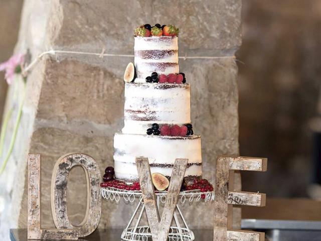 Tartas y otros dulces para bodas de invierno