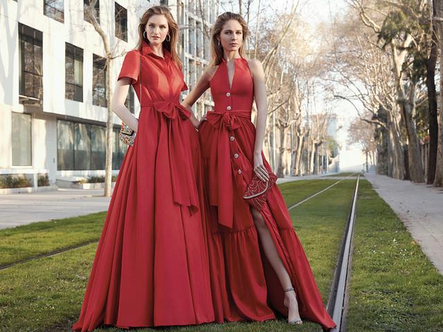 Vestidos rojos de fiesta: 125 looks para impactar