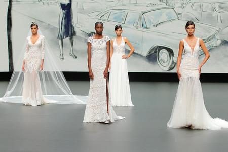 El romanticismo moderno de los vestidos de novia de St. Patrick 2021 conquista la pasarela de la VBBFW