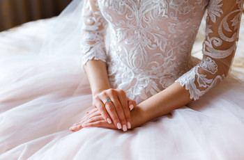La manicura de la novia