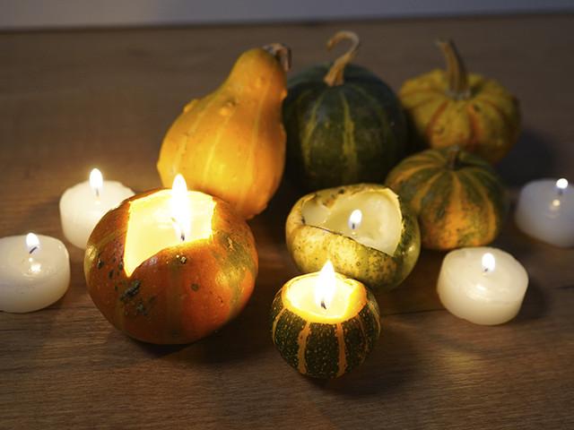 Cómo crear unas decorativas velas para 'Halloween'