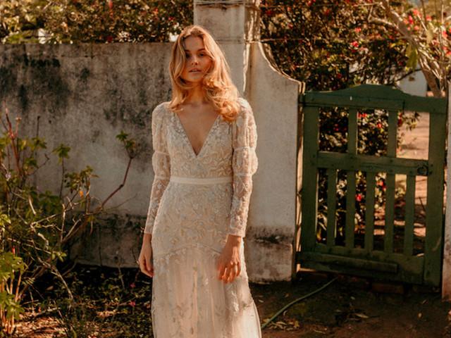 Vestidos de novia Bo & Luca 2020: encanto bohemio