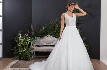 Vestidos de novia Eglantine Créations 2021: ¡puro romanticismo!