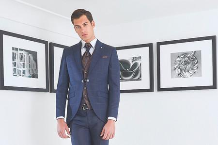 Trajes de novio Roberto Vicentti 2020: pura elegancia