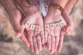 Significado y nombre de todos los aniversarios de boda