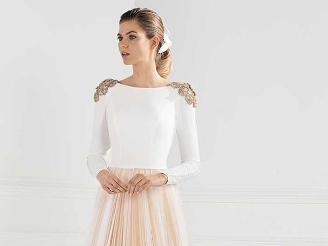 Vestidos de novia Franc Sarabia 2020: elegancia y originalidad