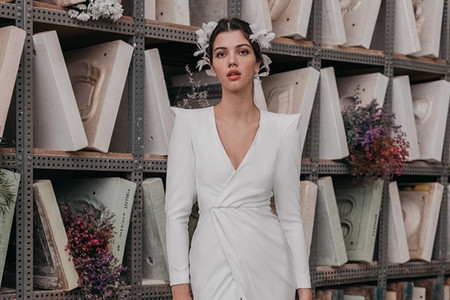 Vestidos de novia Cherubina 2021: diseño y artesanía con sello 'Made in Spain'
