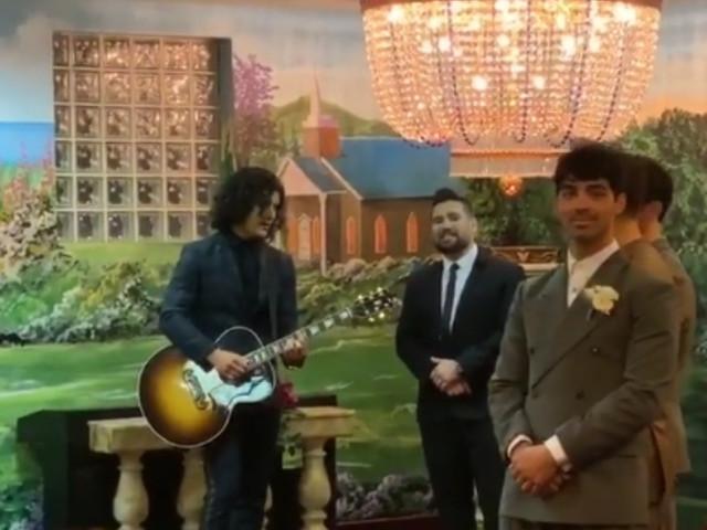 Joe Jonas y Sophie Turner, boda sorpresa en Las Vegas