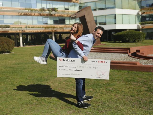 ¡Participad en el sorteo mensual de 5000 euros de Bodas.net!