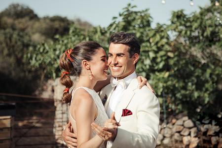 Candela Serrat y Daniel Muriel se han casado
