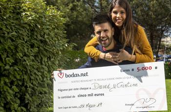 ¡Descubrid a los nuevos ganadores del sorteo mensual de 5000 euros de Bodas.net!