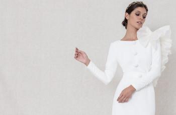 Matilde Cano 2021. ¡No te pierdas sus fantásticos vestidos de novia en clave minimalista!