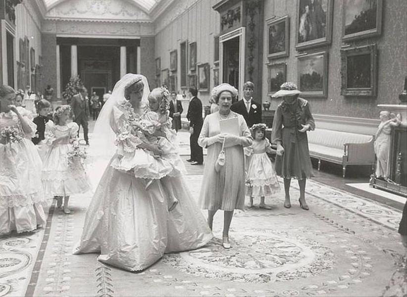 Boda Lady Di en el Palacio de Buckingham