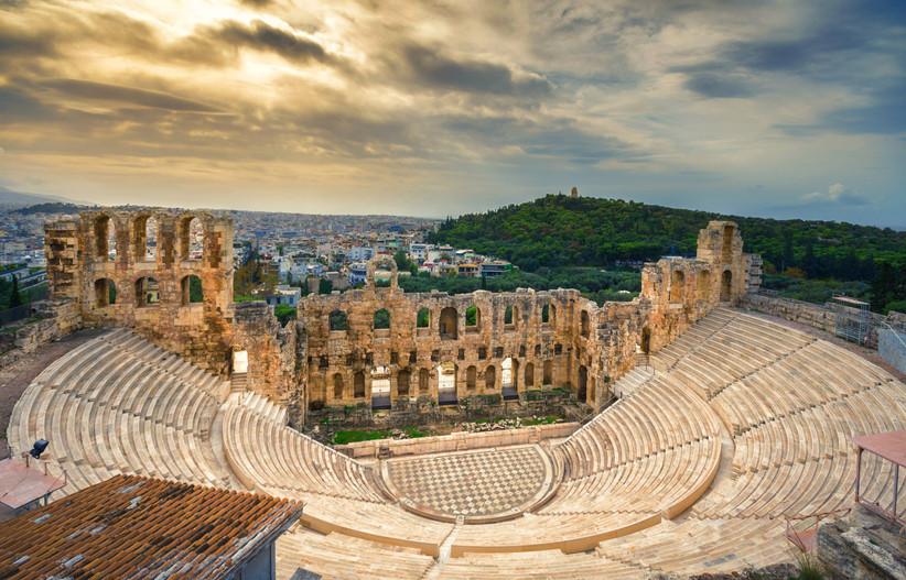 Atenas Grecia, Odeón de Herodes Ático, un destino perfecto antes o después de la boda