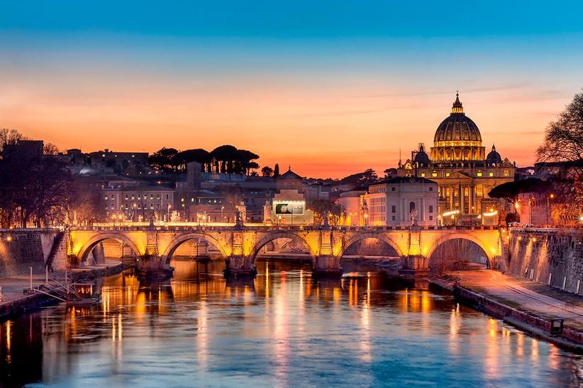 Puente de Sant'Angelo de Roma