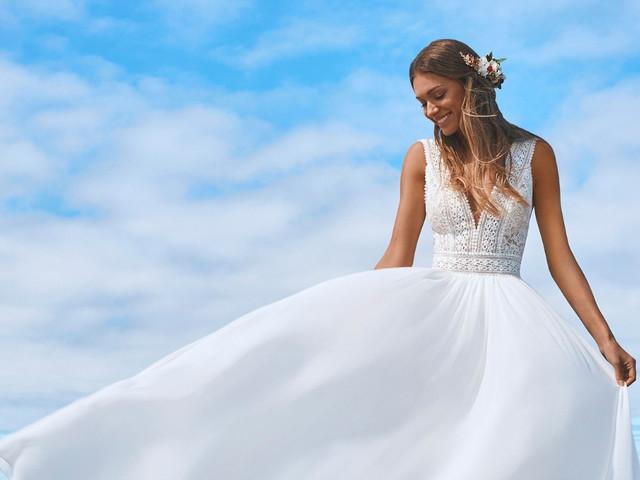 Los vestidos de novia de 2022 que más gustan a nuestras novias