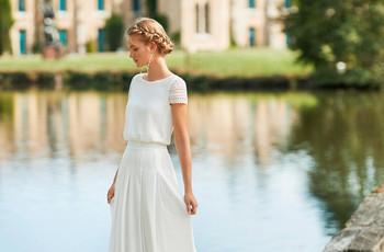 Vestidos de novia sencillos: los 100 modelos más bonitos