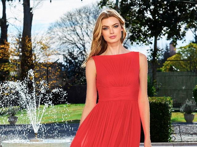 ¡Todo al rojo! Impacta en una boda con cualquiera de estos 100 vestidos de fiesta