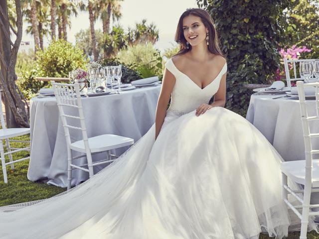Vestidos de novia Ronald Joyce 2020: únicos e impresionantes