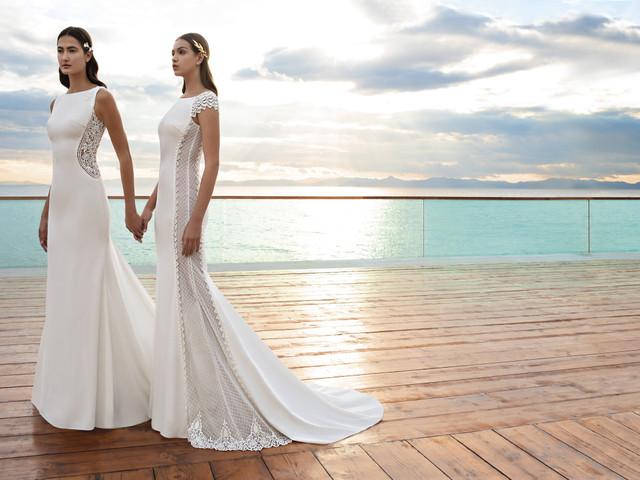 Vestidos de novia Cosmobella 2020: elegancia atemporal