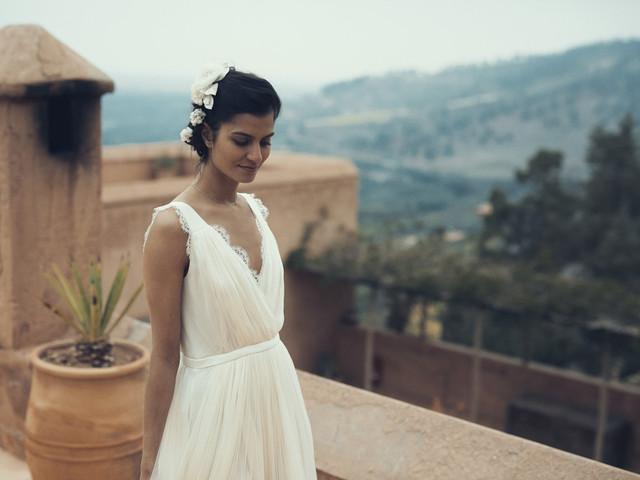 Vestidos de novia para mujeres bajas: 10 trucos de estilo