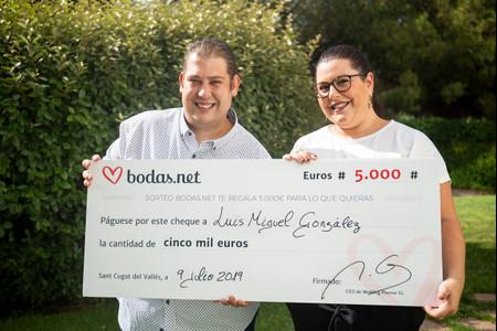 El enlace de sus sueños gracias a los 5000 € del sorteo de Bodas.net