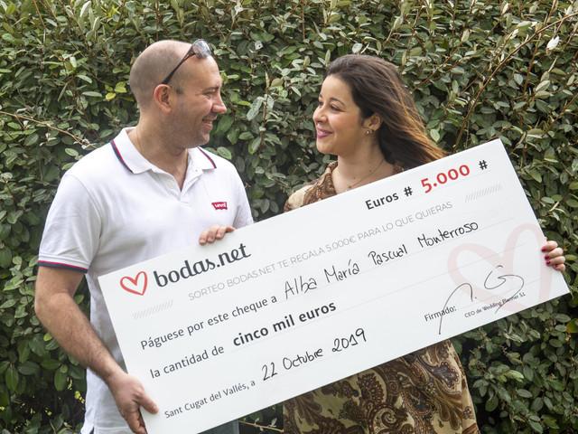 Participad en el sorteo de Bodas.net. ¡5000 euros pueden ser vuestros!