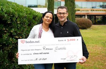 Descubrid cómo ganar 5000 euros en el sorteo mensual de Bodas.net