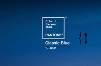 Una boda en 'Classic Blue', el Color del Año 2020