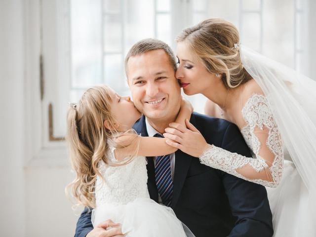 Cómo explicar a los hijos que os casáis