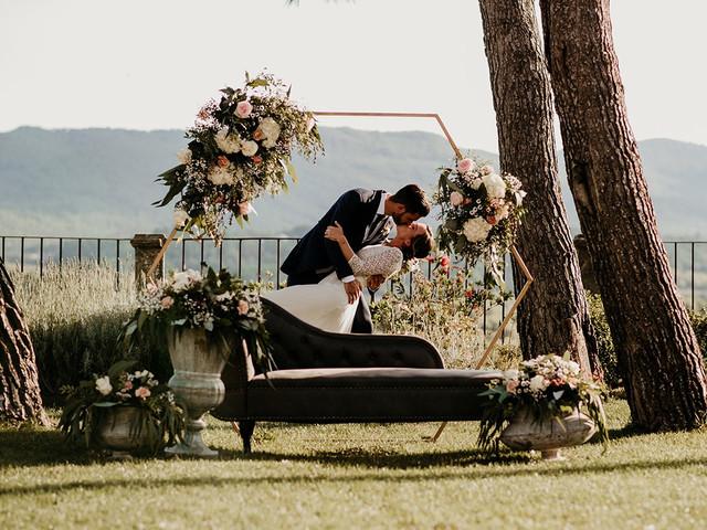 ¡100% tendencia! Decoración para bodas con formas geométricas