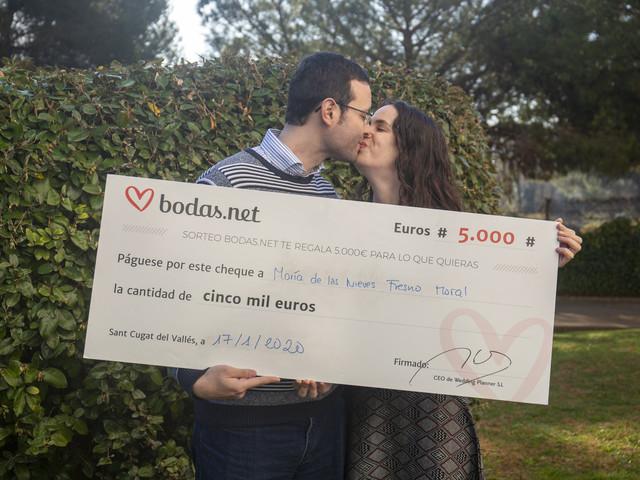 ¿Cómo participar en el sorteo mensual de 5000 euros de Bodas.net?