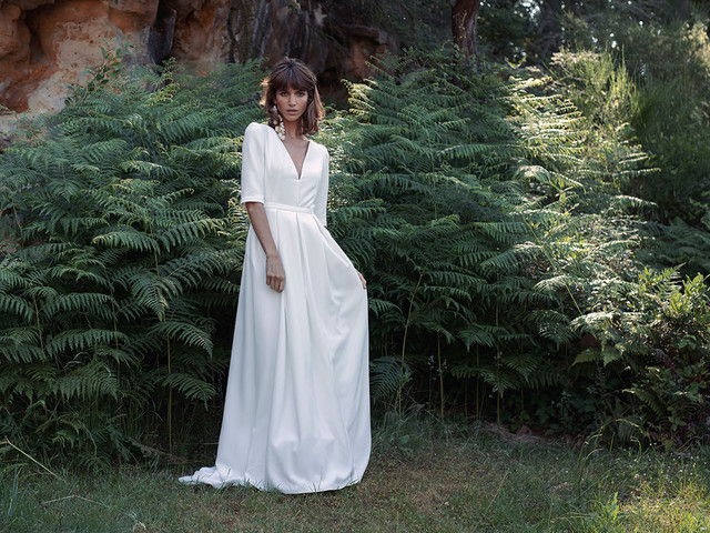 Vestidos de novia Laure de Sagazan 2021: encanto bohemio