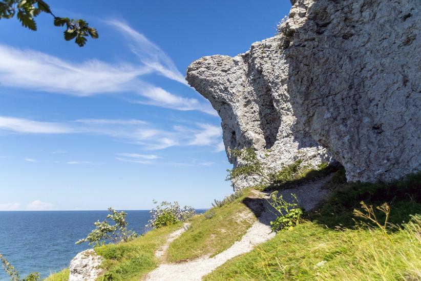 Isla de Gotland, Reserva Natural Högklint
