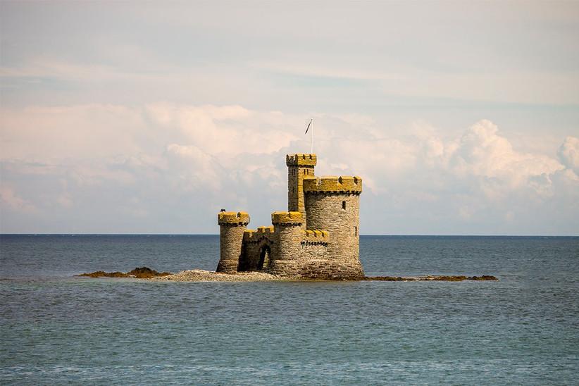 Luna de miel o viaje a la isla de Man, Douglas, Torre del Refugio