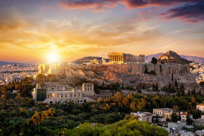 Grecia capital: Atenas, un destino perfecto antes o después de la boda