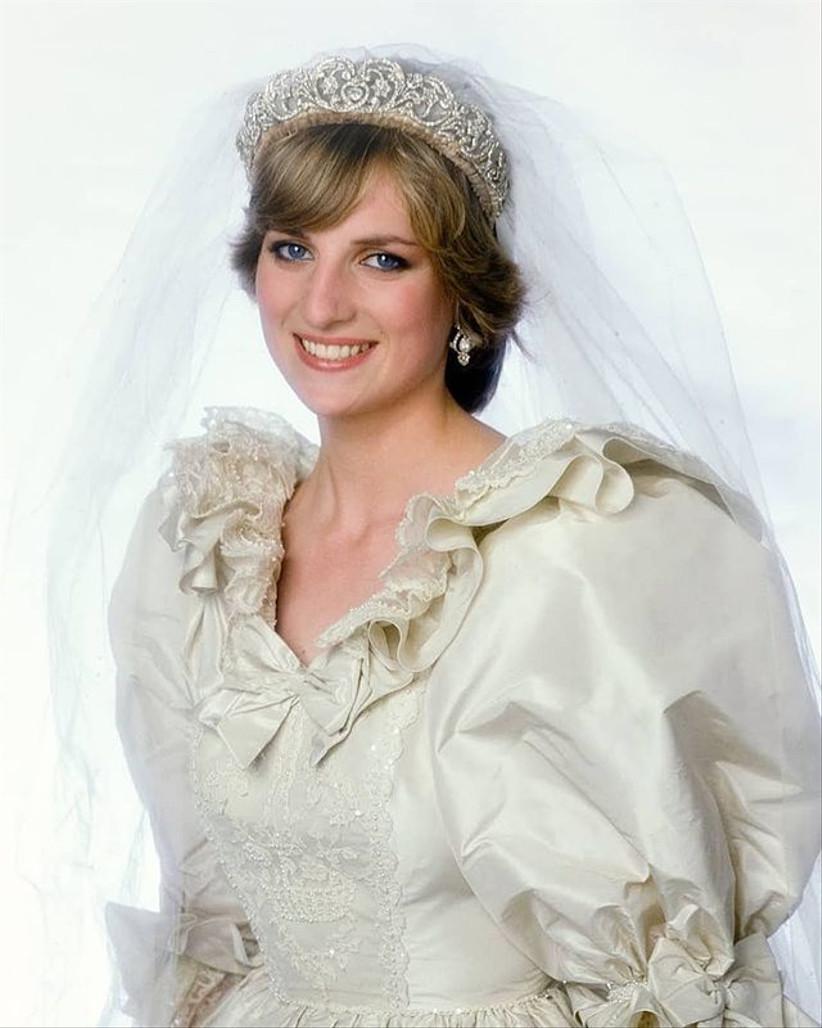 tiara de diamantes Diana de Gales