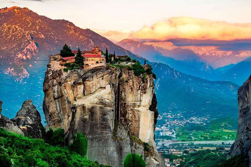Fotos de Grecia, monasterios de Meteora, un destino perfecto antes o después de la boda