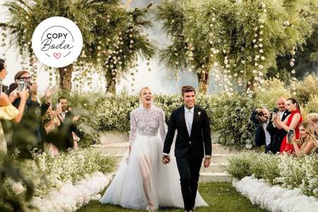Copy boda: qué envidiar (y qué tener) de la boda de Chiara Ferragni y Fedez
