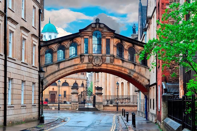 Oxford en el sur de Inglaterra