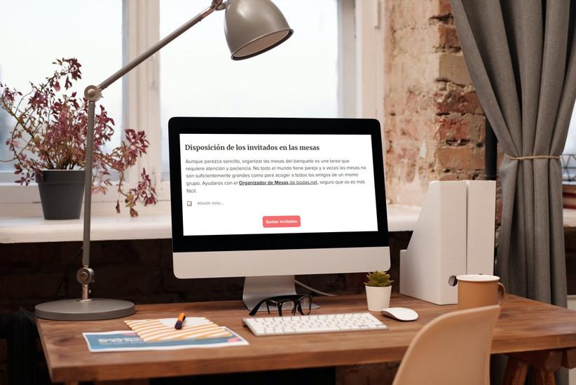 Agenda de tareas online de Bodas.net, ideal para organizar la boda desde el móvil o el ordenador