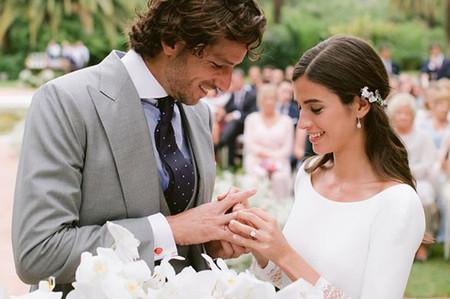 Así ha sido la boda de Feliciano López y Sandra Gago