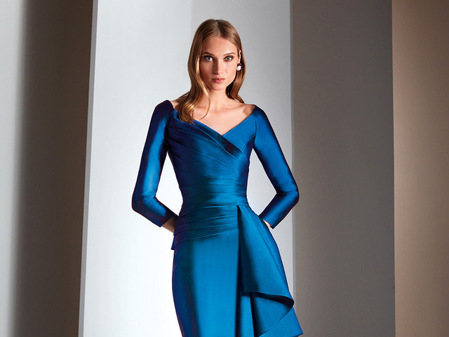 150 vestidos azules de fiesta que (sin duda) te dejarán sin aliento