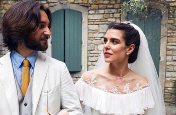 Todos los detalles de las dos bodas de Carlota Casiraghi