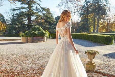 25 vestidos de novia con espalda 'tattoo lace'