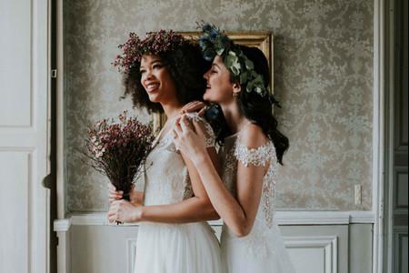 Vestidos de novia Pour Un Oui by Cymbeline 2021: llenos de encanto