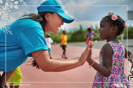 Regalo Azul de UNICEF: no es lo que das, es lo que reciben