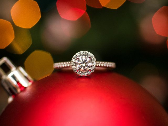 10 (buenas) maneras de anunciar vuestro compromiso en Navidad