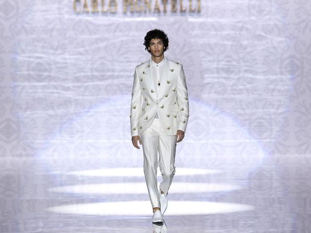 Trajes de novio Carlo Pignatelli 2020: tradición y vanguardia